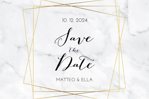 SAVE THE DATE SCHICK MARMOR